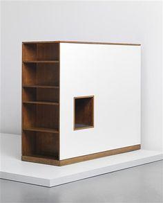 Le Corbusier and Charlotte Perriand, Wardrobe/Room Divider, 1960s.