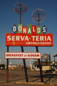 Donald's Serva-Teria Smorgasbord - Breakfast at 6:00 AM