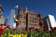 Old Red Courthouse.(Brendan Sullivan/The Dallas Morning News)