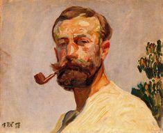 Frantisek Kupka >> Self-portrait 1