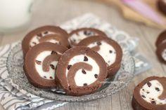 girelle di biscotti ricotta e cioccolato senza cottura 1