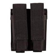Voodoo Tactical MOLLE Compatible Double Pistol Magazine Pouch