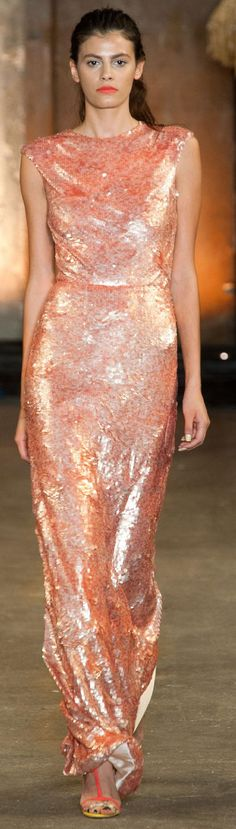 Christian Siriano Spring 2014 Ready-to-Wear Collection Beautiful Gowns, Beautiful Outfits, Couture Fashion, Runway Fashion, Pink Dress, Dress Up, Dress Long, Rosa Pink, Mode Glamour