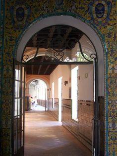Sevilla, Museo de Bellas Artes , interor  Spain