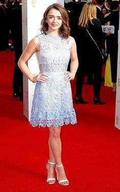 Maisie Williams wearing Self Portrait   Harper's Bazaar