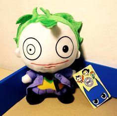 DC Comics Originals the JOKER Super Heroes 18 cm Plush Soft Toy BNWT