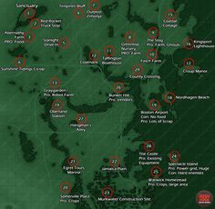 settlement locations map fallout 4