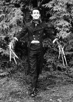 Edward Scissor Hands #johnnydepp