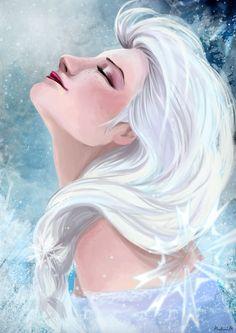 Elsa by Ines92.deviantart.com on @deviantART