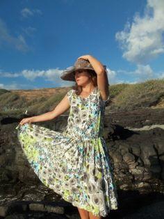 Sommerkleid nackter Rücken von MimozaStyle auf Etsy, €68.00