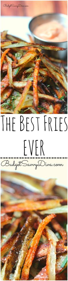 The BEST Fries EVER Recipe