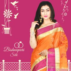 Find the latest Bishnupuri at an amazing price from Silk Sarees Online, Sari, Amazing, How To Wear, Stuff To Buy, Color, Collection, Fashion, Saree