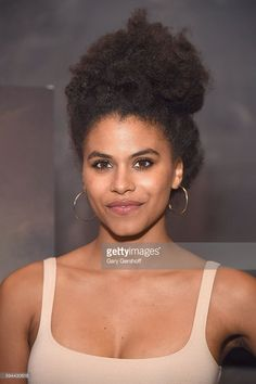 Actress Zazie Beetz attends the 'Atlanta' New York screening at The Paley Center for Media on August 23, 2016 in New York City.