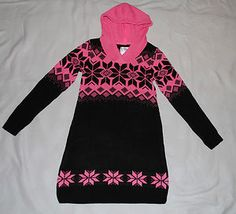 #Shopping Starting Bid $12.99  Girls Justice Black & Pink Dress Size 10 New with tags Free Shipping Christmas