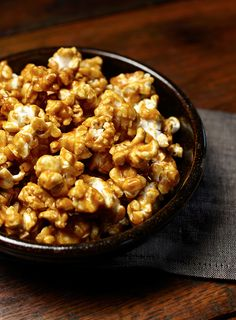 Who'd have thought that savory and sweet could pair so well together? Curry and buttery caramel corn combine for this ideal late-night snack. #EuroStyleButter