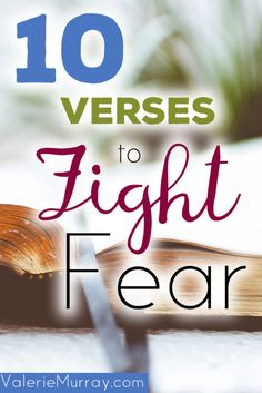 Christian Living:One of the best ways to fight fear is by training our minds with the truth of God's Word. That way, when our thoughts are attacked by the arrows of fear, we can combat them immediately. Christian Living, Christian Faith, Christian Women, Christian Marriage, Encouraging Bible Verses, Scriptures, Christian Encouragement, Christian Inspiration, Word Of God
