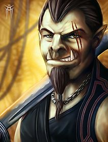 Shadowrun Returns - PC/NPC Character Portrait 02 by KARGAIN.deviantart.com on @deviantART