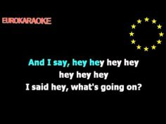 """4 Non Blondes"" (What's Up) - Karaoke - YouTube"