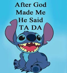 Love me some stitch - Sprüche - - Disney Ideen Humour Disney, Funny Disney Memes, Disney Quotes, Funny Memes, Funny Phone Wallpaper, Cute Disney Wallpaper, Funny Wallpapers, Wallpaper Quotes, Lilo And Stitch Memes