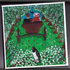 ROZKOŠNÁ ALEJA Úvoz, ako ho obyvatelia Newbridge volali, bol asi štyristo alebo päťsto metrov dlhý úsek cesty a nad ním sa klenuli obrovské košaté jablone, ktoré tam pred rokmi vysadil akýsi čudácky gazda. Nad hlavami sa im teda rozprestieral dlhý baldachýn snehobielych voňajúcich kvetov. Pod konármi bolo ružové šero a vpredu presvitalo nebo ožiarené zapadajúcim slnkom, ktoré ohromovalo ako obrovský ružicový oblok na konci katedrálovej lode.  Pred toutou krásou akoby dievča onemelo… Nov 21, 21st, Instagram Posts, Painting, Painting Art, Paintings, Painted Canvas, Drawings