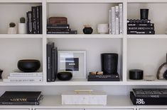 Erica Cook Office Update Shelf Styling
