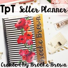 Editable TpT Seller
