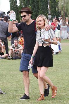 Diane Kruger au Festival de Coachella http://www.vogue.fr/mode/inspirations/diaporama/les-meilleurs-looks-du-festival-de-coachella-2014/18339/image/995123#!joshua-jackson-et-diane-kruger-au-festival-de-coachella-dimanche-20-avril