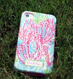 Monogrammed Lilly Pulitzer iPhone Case