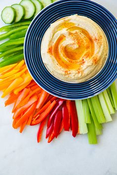 Hummus - this is going to be my go to hummus recipe from now on, it's so good!!!