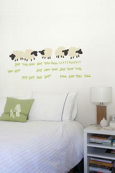 cute over a bed in guest bedroom :)   whatisblik.com