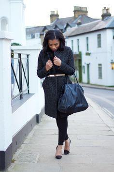 BLOGEUSE BLACK 2014 10 ravissantes blogueuses mode noires à suivre en 2014 | 2ème partie