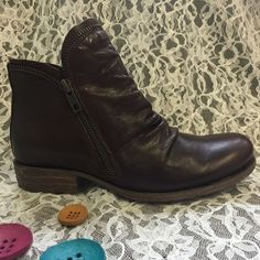 Luna Miz Mooz short Leather Boot Leather boot Miz Mooz Shoes Ankle Boots & Booties