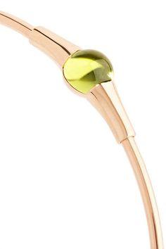 Pomellato - M'ama Non M'ama 18-karat Rose Gold Peridot Bracelet - one size