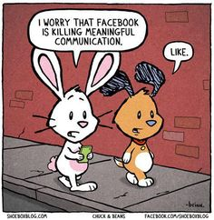 Is Facebook killing real communication?