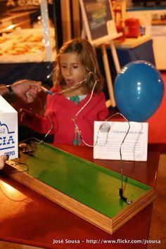 Feira de Sant'iago 2013 – 03Ago – Experiências e engenhocas com electrões