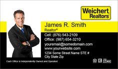 Weichert  Commercial Business Cards