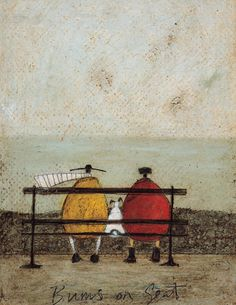 Bums On Seat Art Print by Sam Toft Easyart.com