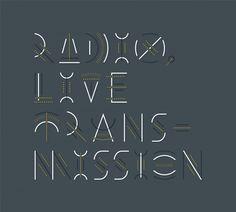 Type / Erik Marinovich – Friends of Type – Radio, Live Transmission