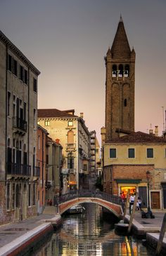 "The most beautiful ""streets"" on the world you can find only in Venice. Campo San Barnaba"