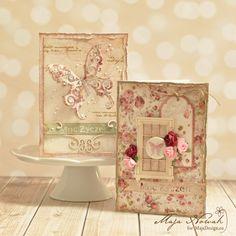 CraftHobby Oliwiaen: Butterfly Cards. Kartki okolicznościowe