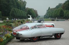 1953 PEGASO Z-102B BERLINETTA - by Carrozzeria Touring Superleggera of Milan.