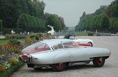 1953 PEGASO Z-102B BERLINETTA - by Carrozzeria Touring Superleggera of Milan.