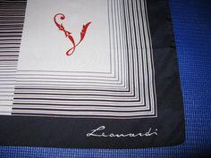 Designer Scarves Vintage Scarf Leonardi di greenleafvintage1, $16.99