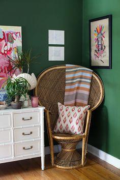 Wicker Chairs on Design*Sponge