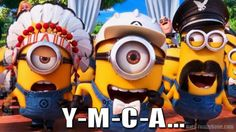 Funny Minion Quotes   Funny Minions as The Villiage People