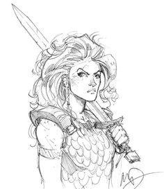 Red Sonja by Max Dunbar
