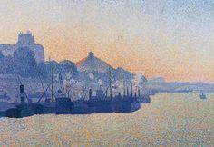 La Seine à Paris, Albert Dubois-Pillet, 1888