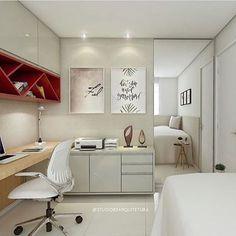 Inspiração de hoje direto do Decor Criative {@decorcriative}.😍❤️✨ Projeto: Studio 83 Arquitetura.