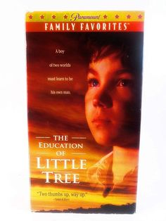 The Education of Little Tree (VHS, 1998) Cherokee American Indian