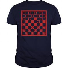 I Love  Checkers Shirt; Tee